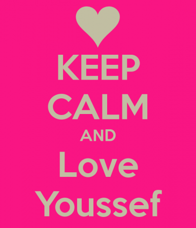 keep calm and love youssef (3)
