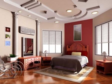 اسقف غرف نوم 2015 ديكورات وتصميمات فخمة (4)