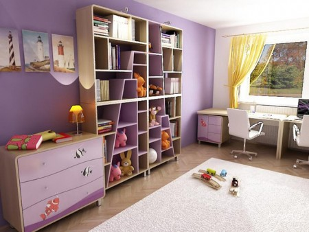 الوان غرف نوم اطفال (1)