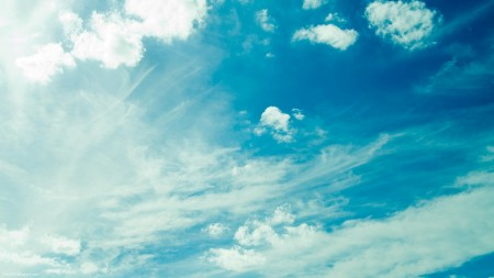 خلفيات سماء زرقاء (4)