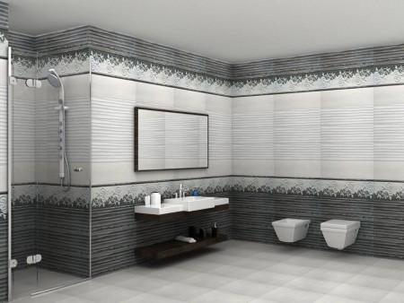 ديكورات حمامات سيراميك2015 (2)