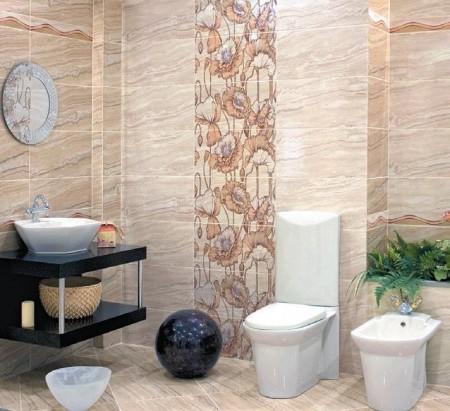 ديكورات حمامات سيراميك2015 (3)