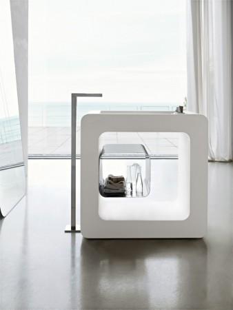 ديكورات حمامات 2015 ابيض (2)