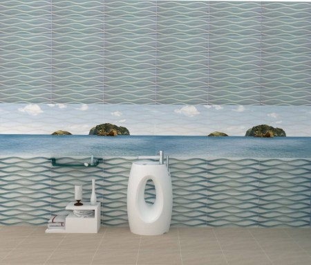 ديكورات سيراميك حمامات2015 (2)