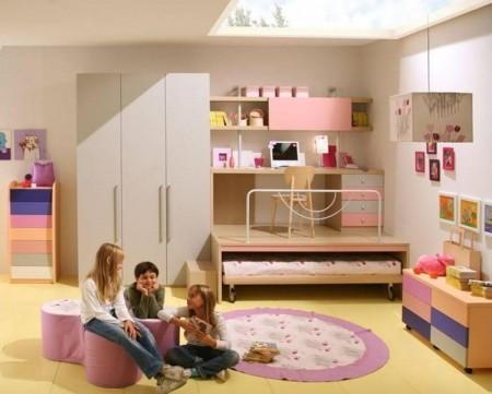 ديكور غرف الأطفال الحديثة والمودرن2015 (2)
