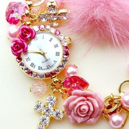 ساعات بناتي باكسسوارات جميلة (6)
