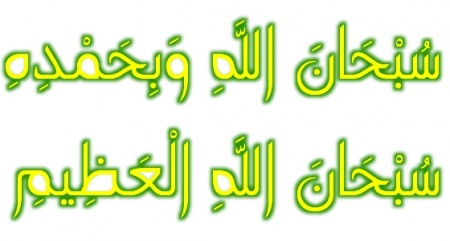 سبحان الله وبحمده بالصور (1)
