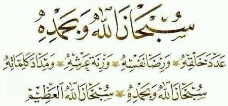 سبحان الله وبحمده (2)
