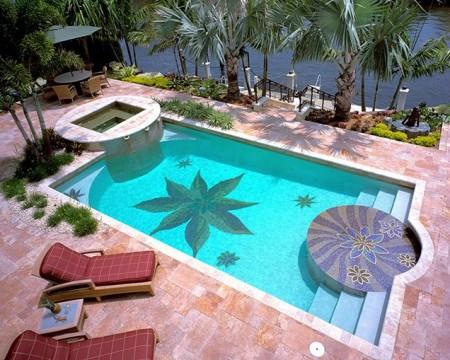 شكل حمام سباحة منزلي (1)