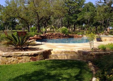 شكل حمام سباحة منزلي (2)