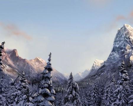 صور الثلج في خلفيات جميلة وجذابة (3)