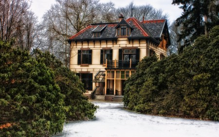صور واجهات منازل من الخارج (3)