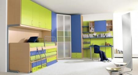 غرف اطفال اخضر