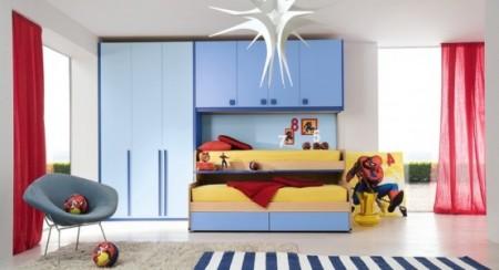 غرف اطفال ازرق