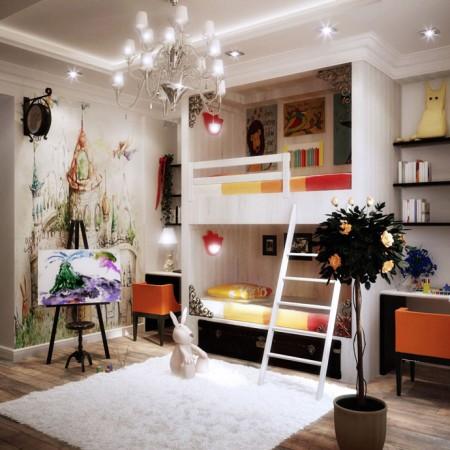 غرف اطفال ايكيا (2)