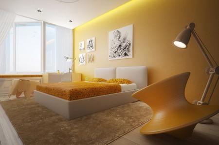 غرف اطفال صفراء