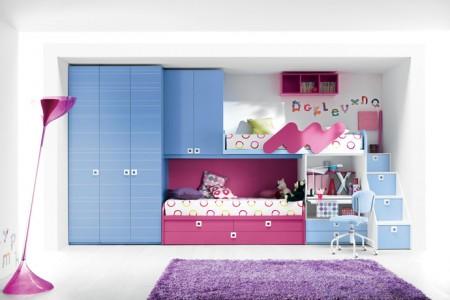 غرف اطفال لبني