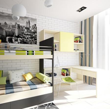 غرف اطفال ملونة (2)