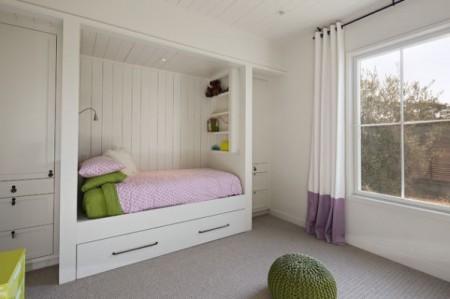 غرف نوم اطفال خشب (3)