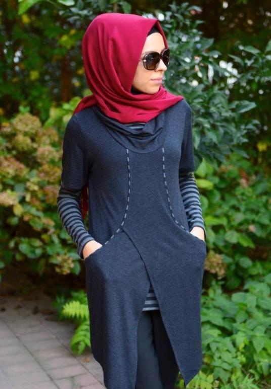 اجدد ملابس محجبات تركية (2)