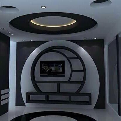 احدث اشكال وتصميمات الاسقف المعلقة (3)