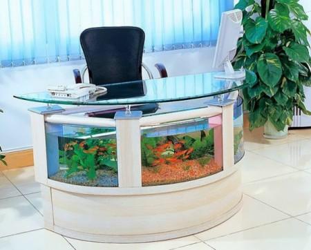ديكورات وافكار الاسماك في الشقق والفلل (9)