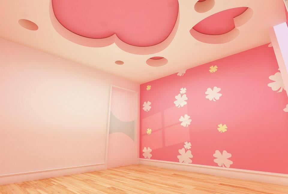 ديكورات وصور سقف معلق (1)