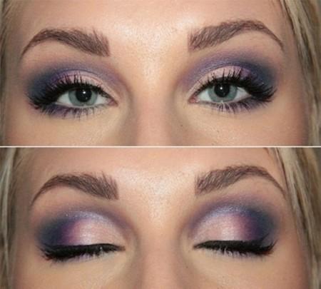 طريقة مكياج عيون (1)