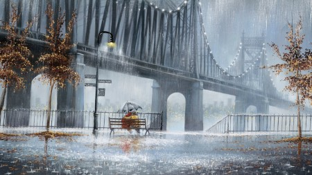 مطر خلفيات (3)