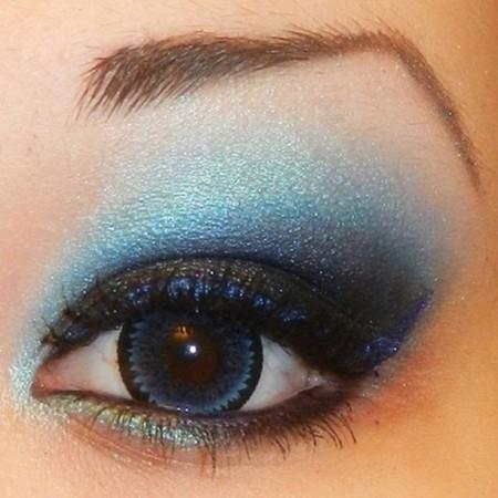 مكياج عيون خليجى (1)