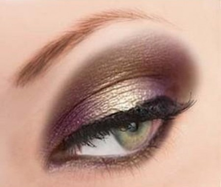 مكياج عيون صغيرة (3)