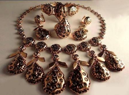 اشكال مجوهرات وذهب من لازوردى (2)