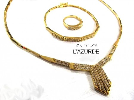 تصميمات جديدة لذهب لازوردى (2)