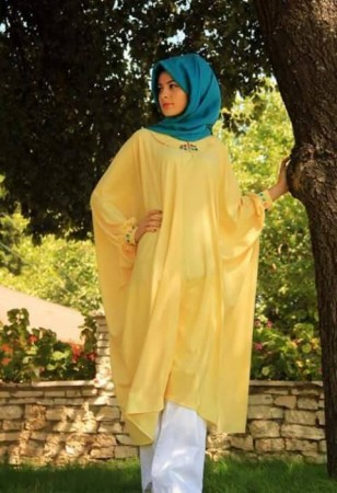 تصميمات ملابس المحجبات (3)