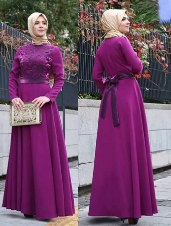 4dc78b2999448 تنسيق ملابس المحجبات 2015 بالصور أحدث التصميمات لأزياء المحجبات ...