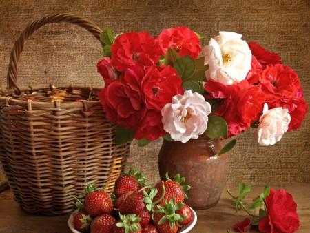 صور زهور حمراء (2)
