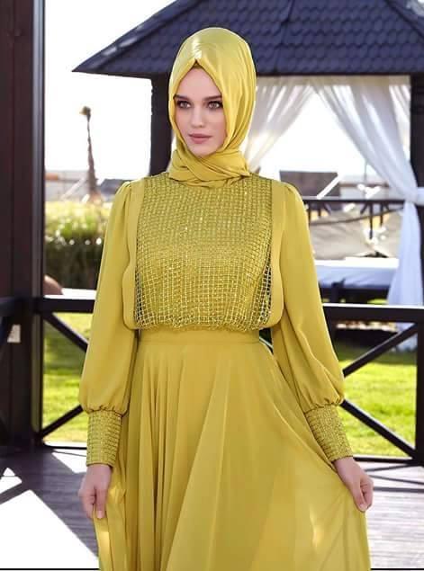 5fd5d40112e2e تنسيق ملابس المحجبات 2015 بالصور أحدث التصميمات لأزياء المحجبات ...