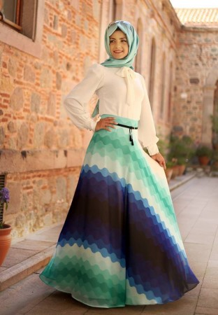 ملابس العيد للمحجبات (2)