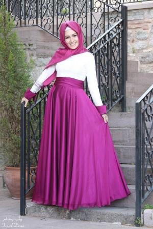 ملابس للمحجبات تركية بتصميمات فخمة (1)