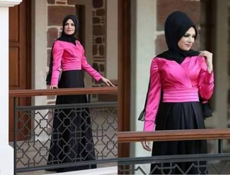 موضة ملابس المحجبات الجديدة (3)