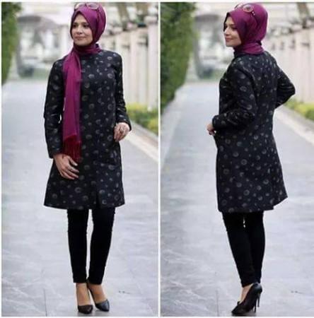 موضة ملابس المحجبات للعيد 2015 (3)