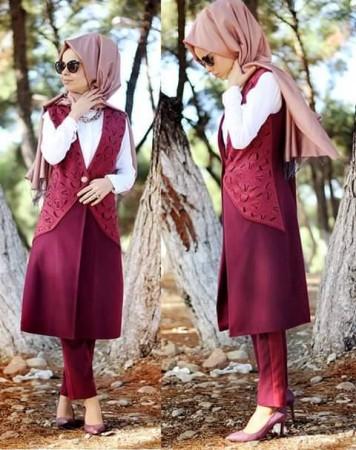 موضة ملابس المحجبات 2015 (3)