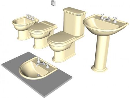 اكسسوارات وديكورات حمامات (1)