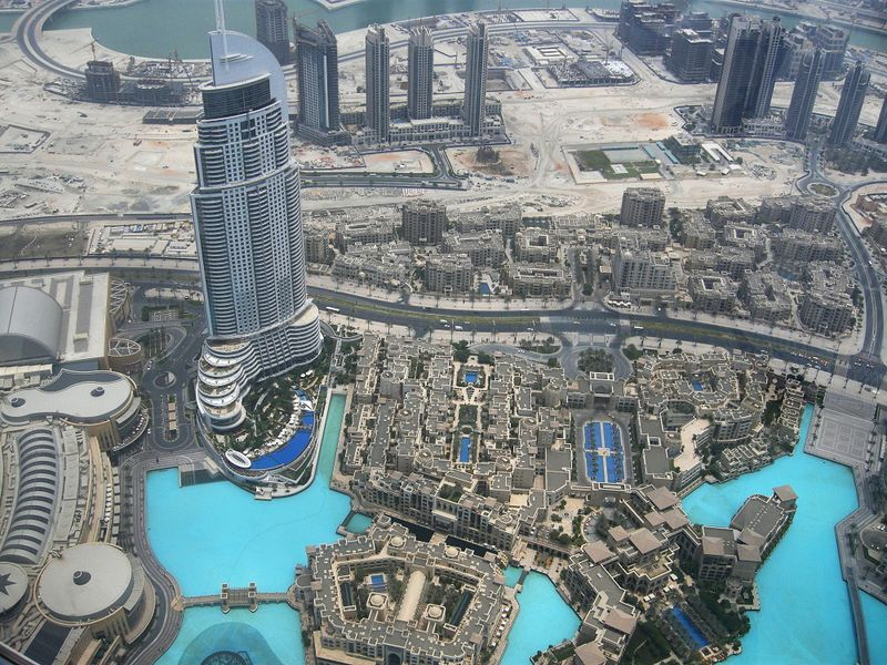 برج خليفة بالصور من الداخل والخارج (2)