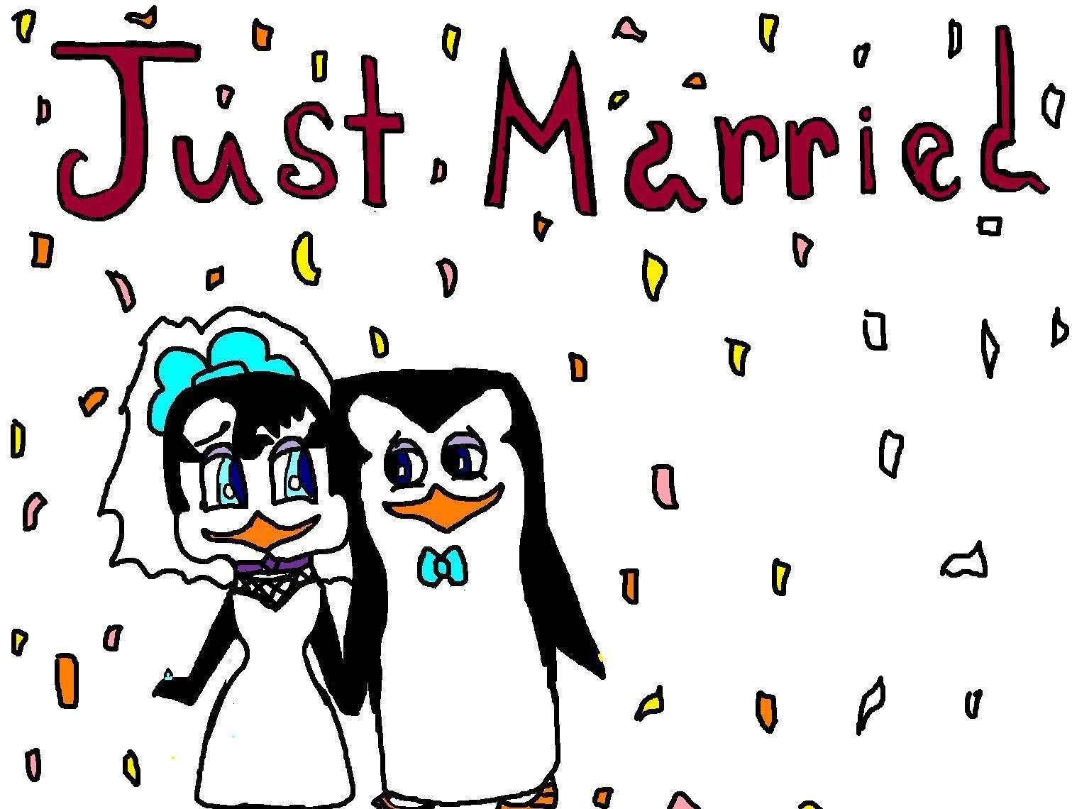 صور just married فيس بوك (4)