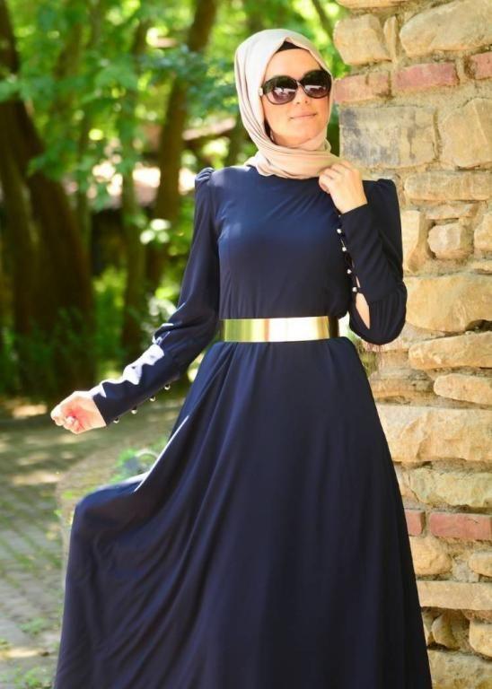 588ebfc054f92 لباس محجبات جديد موضة لباس المحجبات بالصور
