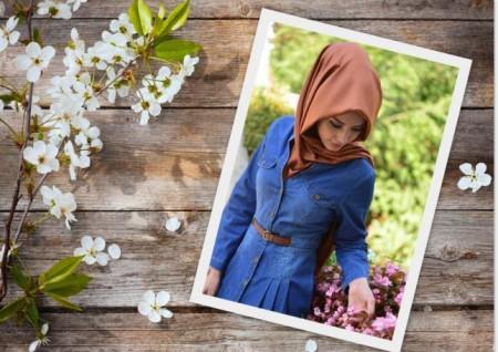 ملابس محجبات بالوان جديدة (1)