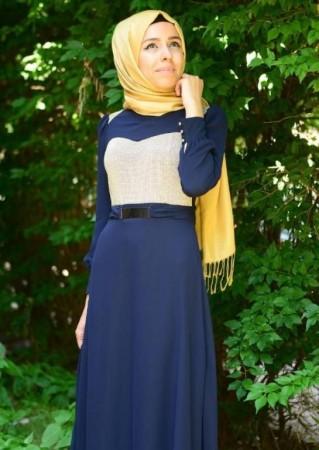 ملابس محجبات بالوان جديدة (2)