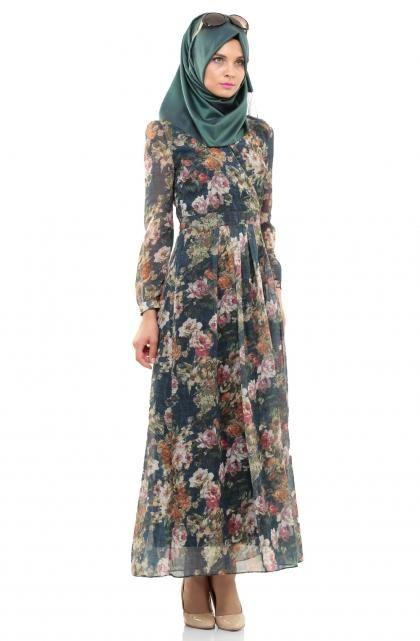 ملابس محجبات موضة 2016 (1)