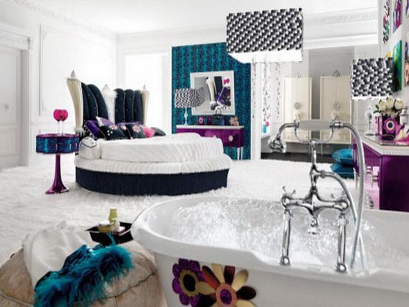 الوان غرف نوم بيضاء (4)
